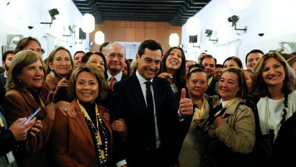 Juan Manuel Moreno, nuevo presidente de la Junta de Andalucía - Sputnik Mundo