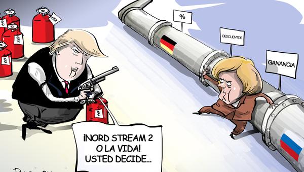 EEUU pone a Alemania 'contra la pared' en el mercado energético - Sputnik Mundo