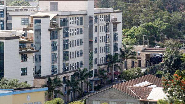 Hotel donde produjo el atentado en Nairobi, Kenia - Sputnik Mundo