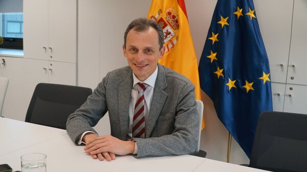 Pedro Duque, ministro de Ciencia, Innovación y Universidades de España - Sputnik Mundo
