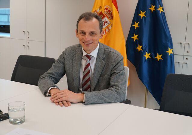Pedro Duque, ministro de Ciencia, Innovación y Universidades de España