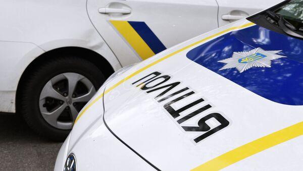 Coches de Policía de Ucrania - Sputnik Mundo