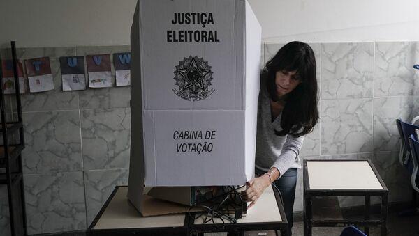 Elecciones presidenciales en Brasil - Sputnik Mundo