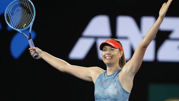 La tenista rusa María Sharápova en el Abierto de Australia - Sputnik Mundo