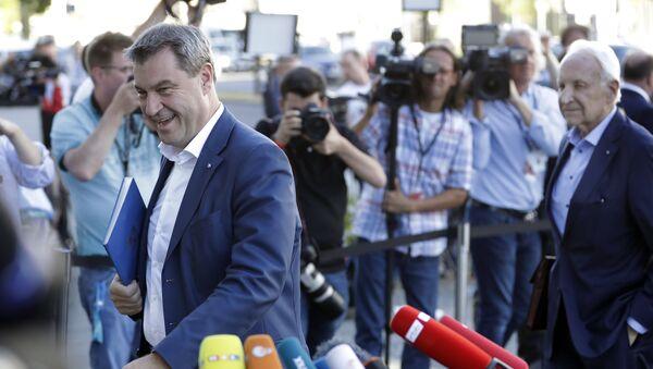 Markus Söder, el nuevo presidente de la CSU de Baviera - Sputnik Mundo