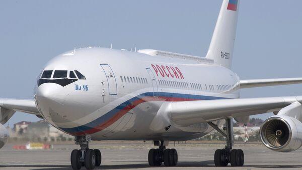 Avión presidencial ruso Il-96 - Sputnik Mundo