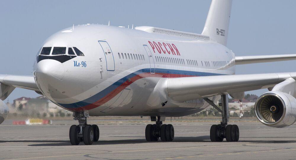 Avión presidencial ruso Il-96