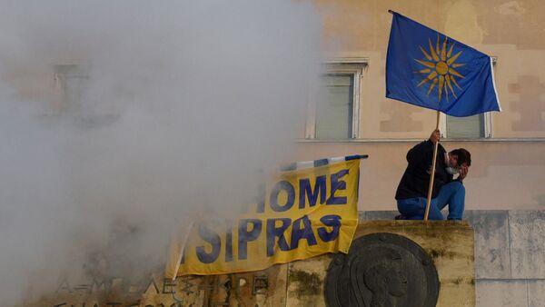 Protestas en Grecia contra el cambio del nombre de Macedonia - Sputnik Mundo
