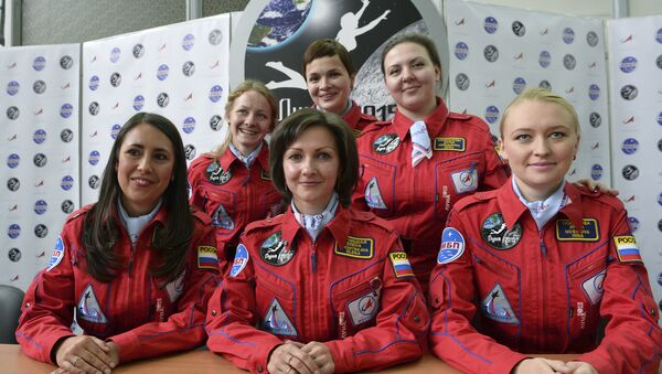 Cosmonautas rusas (archivo) - Sputnik Mundo