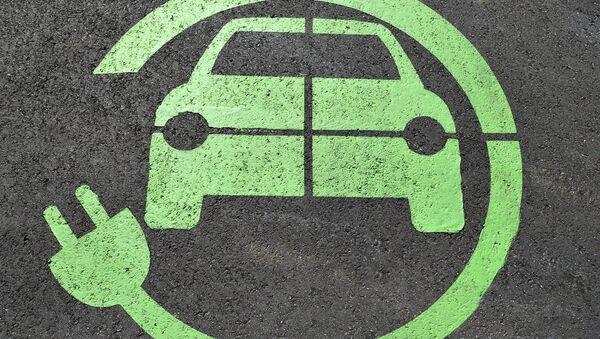 Autos eléctricos (ilustración) - Sputnik Mundo