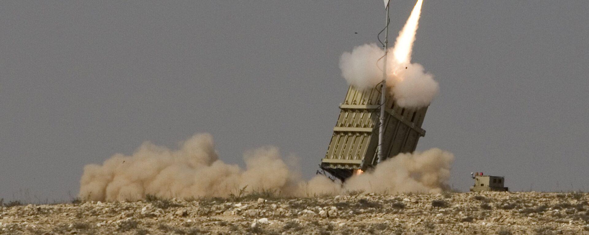 El sistema de defensa antimisiles israelí Cúpula de Hierro - Sputnik Mundo, 1920, 28.06.2021