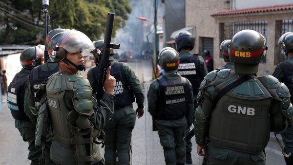 Situación en Caracas tras el alzamiento militar - Sputnik Mundo