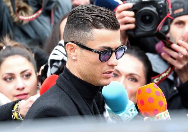 El futbolista portugués Cristiano Ronaldo