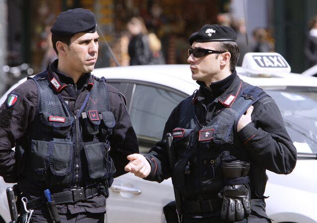 Policía de Italia (imagen referencial)