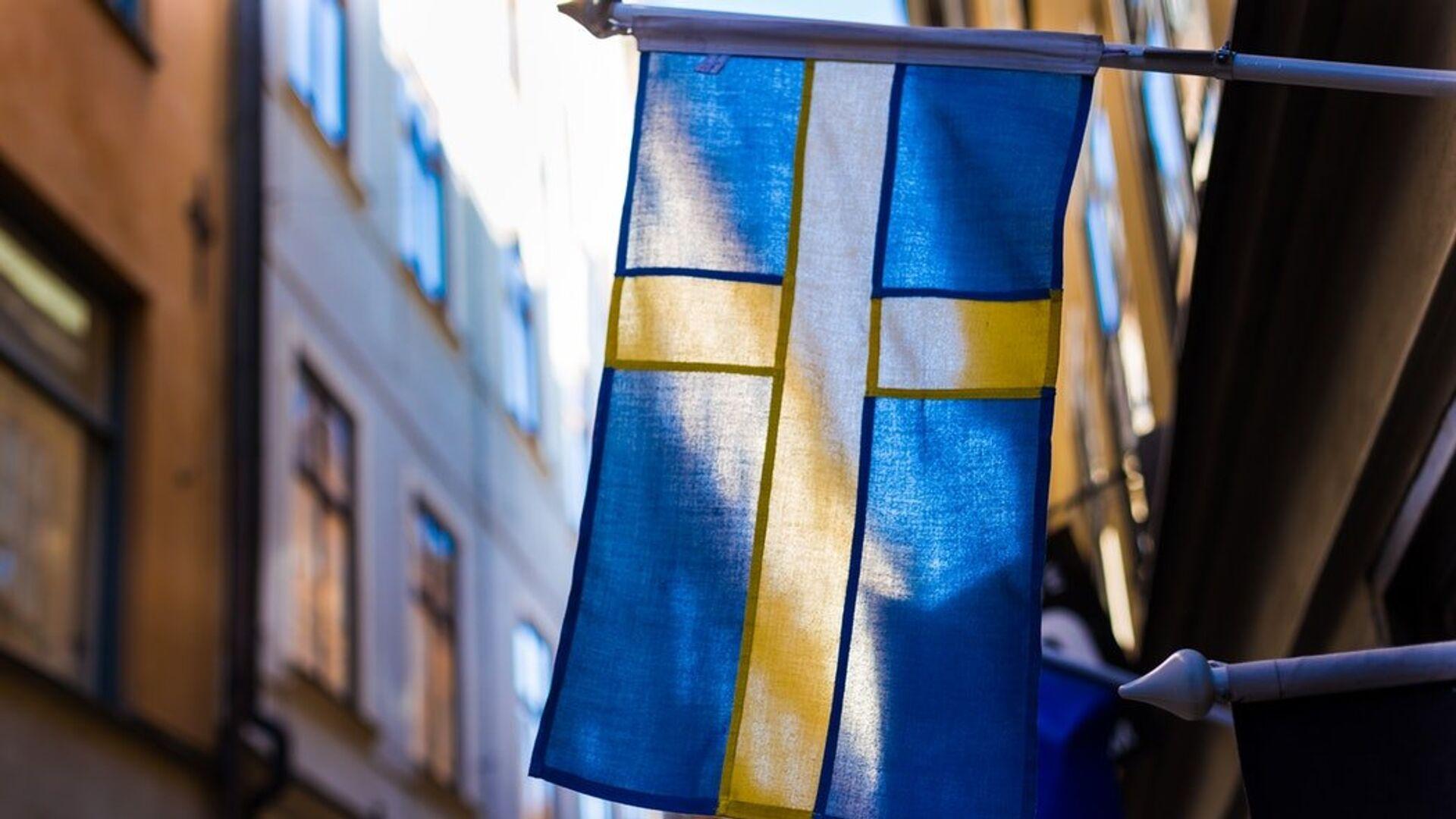 Bandera de Suecia - Sputnik Mundo, 1920, 18.06.2021