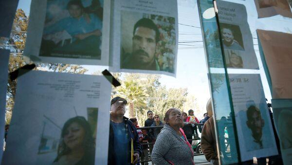 Los retratos de las víctimas de la explosión del ducto en México - Sputnik Mundo