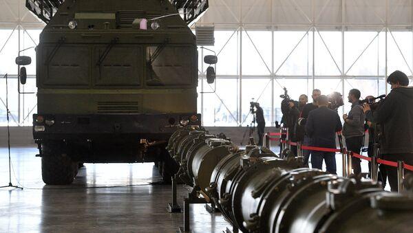 La prensa fotografía al misil 9M729 - Sputnik Mundo