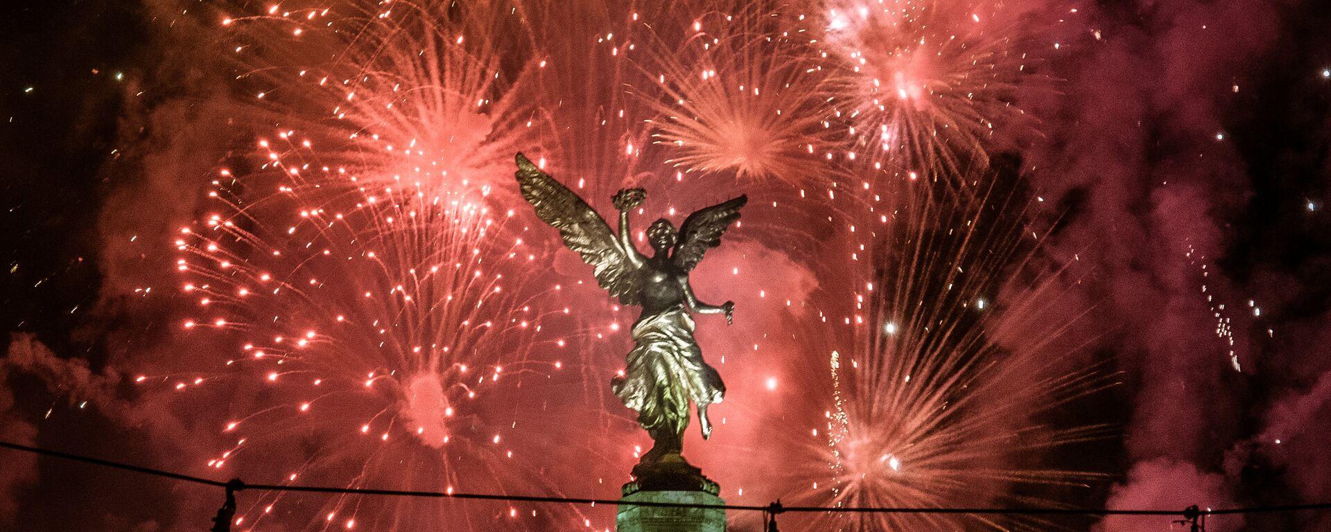 El Ángel de la Independencia en México, símbolo de la patria liberada - Sputnik Mundo, 1920, 10.09.2021