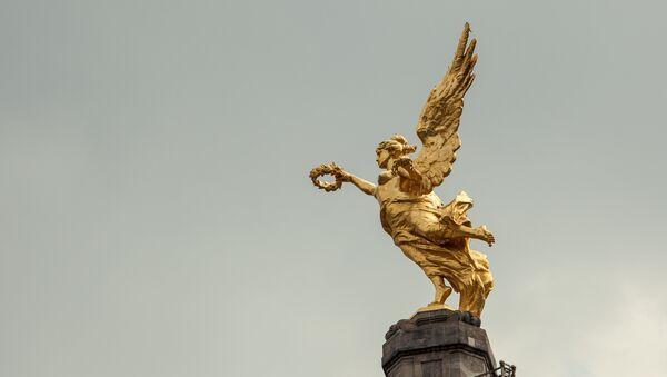El Ángel de la Independencia, Ciudad de México - Sputnik Mundo