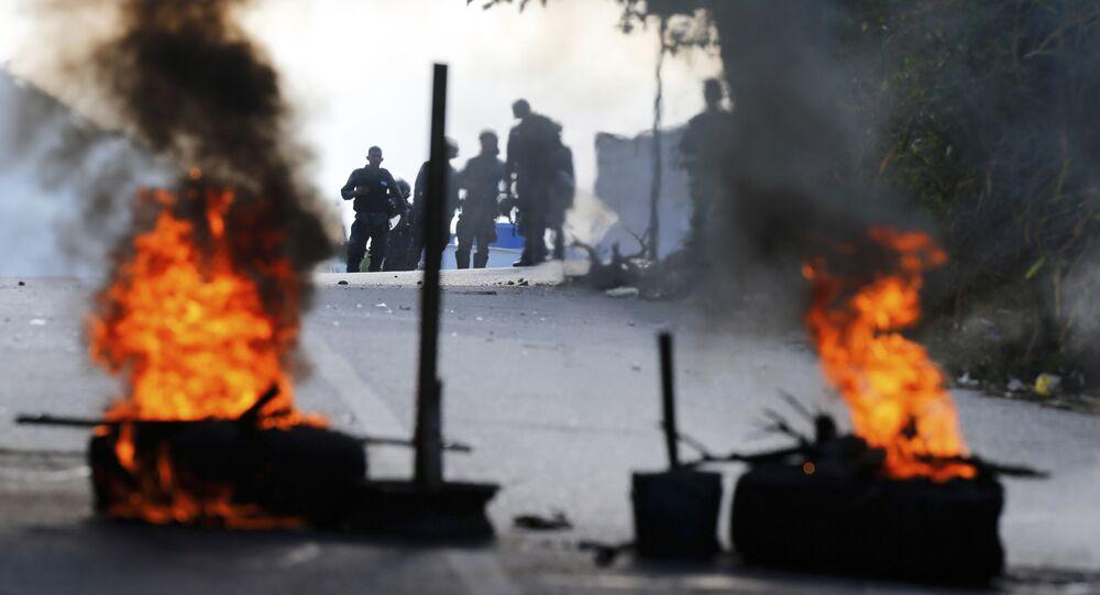 Protestas antigubernamentales en Caracas, Venezuela