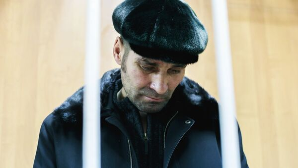 Pável Shapoválov, pasajero que el 22 de enero obligó a la tripulación de un vuelo de la aerolínea rusa Aeroflot a modificar su ruta - Sputnik Mundo