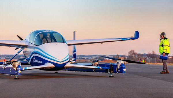 Avión autónomo de pasajeros (PAV) de Boeing - Sputnik Mundo