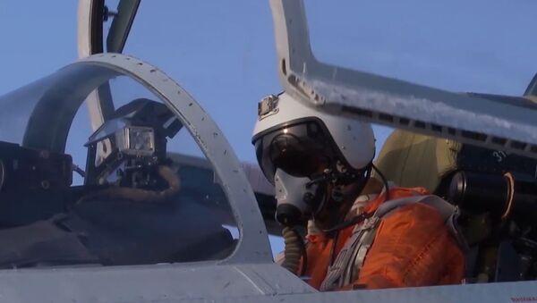 Un Su-27 ruso intercepta un avión espía de Suecia - Sputnik Mundo