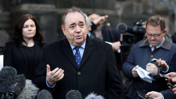 Alex Salmond, ex primer ministro de Escocia - Sputnik Mundo