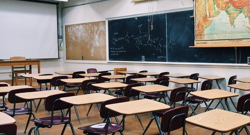 Una clase escolar