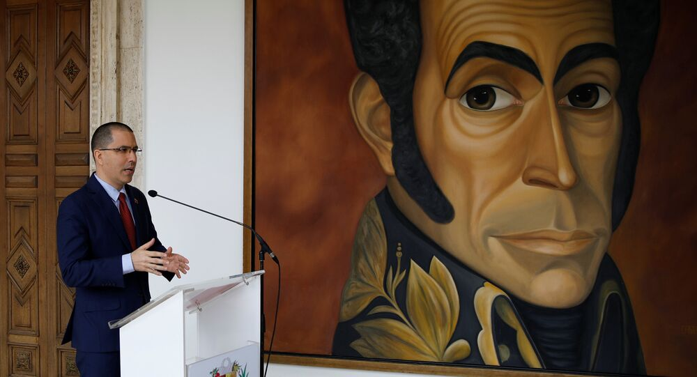El canciller de Venezuela, Jorge Arreaza