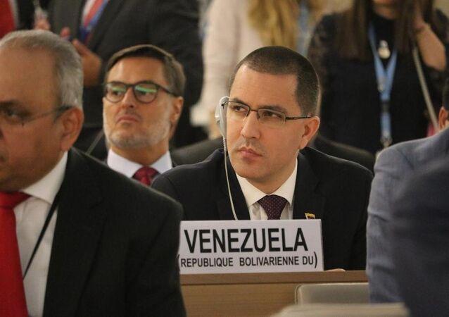 Canciller de Venezuela Jorge Arreaza