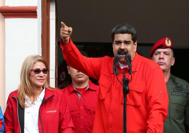 Nicolás Maduro, presidente de Venezuela