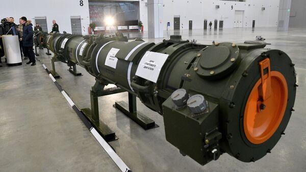 Demostración del misil ruso 9M729 a los agregados militares - Sputnik Mundo