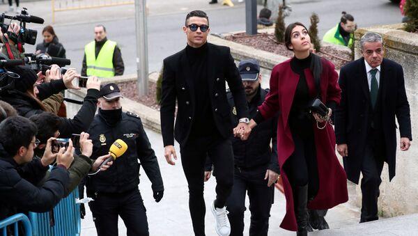 Cristiano Ronaldo, futbolista portugués - Sputnik Mundo