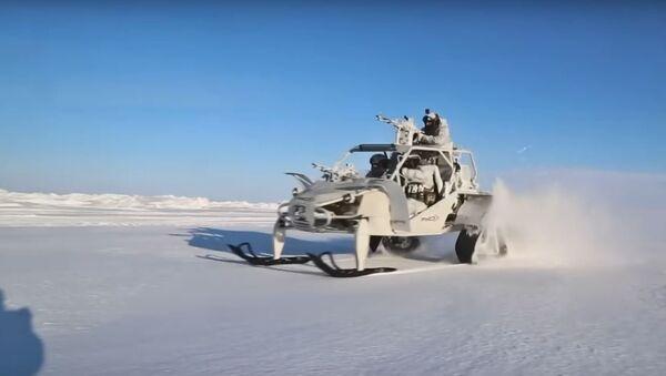 Versión ártica del buggy militar ruso Chaborz - Sputnik Mundo