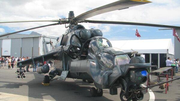 Mi-24 Superhind, foto de archivo - Sputnik Mundo