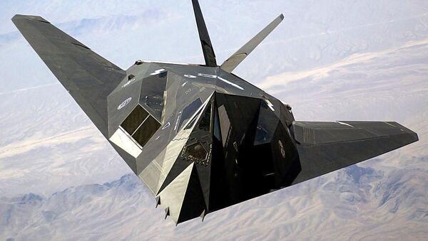 Un F-117 - Sputnik Mundo