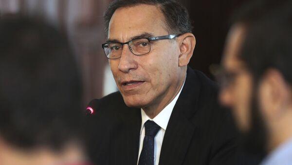 Martín Vizcarra, el presidente de Perú (archivo) - Sputnik Mundo