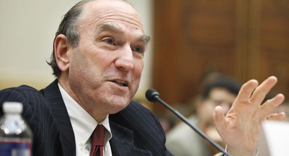 Elliott Abrams, enviado especial de EEUU para Venezuela