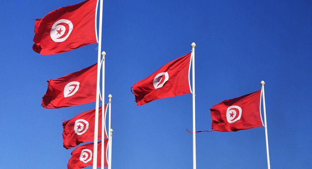 Las banderas de Túnez