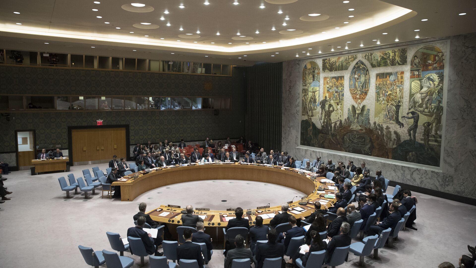 Consejo de Seguridad de la ONU (archivo) - Sputnik Mundo, 1920, 04.02.2021