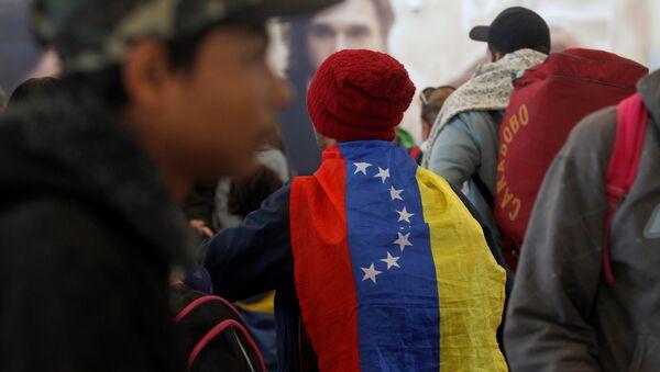 Migrantes venezolanos en Ecuador - Sputnik Mundo