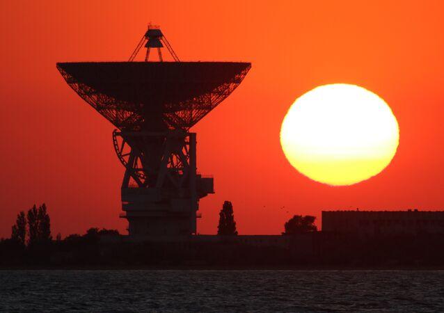 Radiotelescopio P-2500 en Crimea