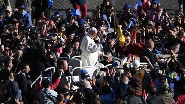 papa francisco vaticano - Sputnik Mundo