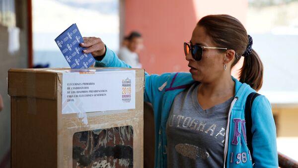 Elecciones primarias de Bolivia - Sputnik Mundo