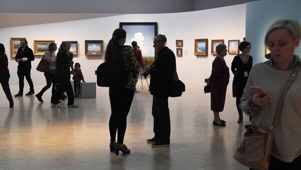 Exposición del paisajista Arjip Kuindzhi en la Galería Tretiakov de Moscú - Sputnik Mundo