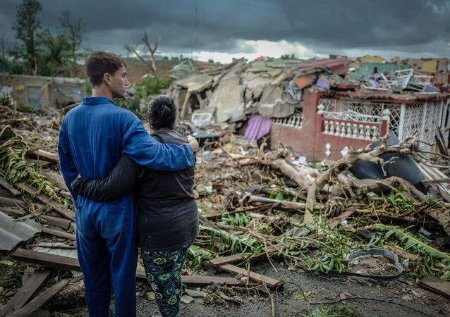 Consecuencias del tornado en La Habana, Cuba