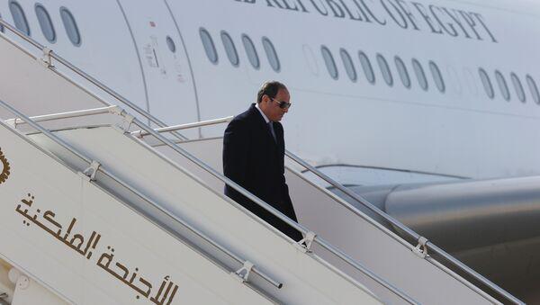 Abdelfatah Sisi, presidente de Egipto - Sputnik Mundo