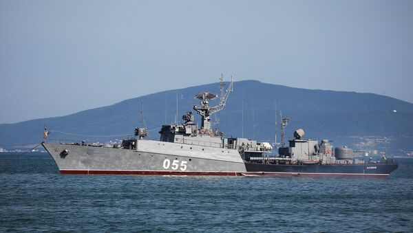 Buque antisubmarino Kasimov - Sputnik Mundo