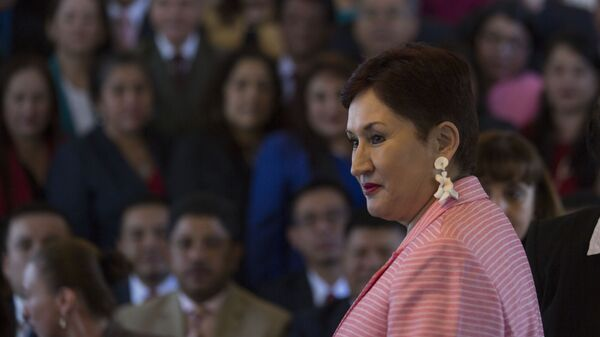 Thelma Aldana, exfiscal general de Guatemala - Sputnik Mundo
